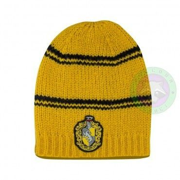 gorro  Harry Potter -Hufflepuff
