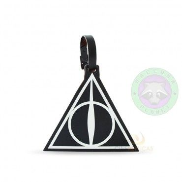 Etiqueta maletas Reliquias  - Harry Potter