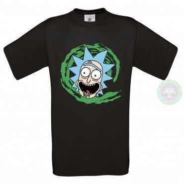 Camiseta Rick - Rick y Morty