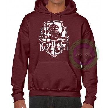 Sudadera Gryffindor Logo Simple- Harry Potter