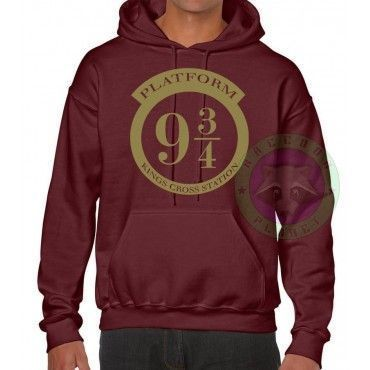 Sudadera Andén 9 3/4 - Harry Potter