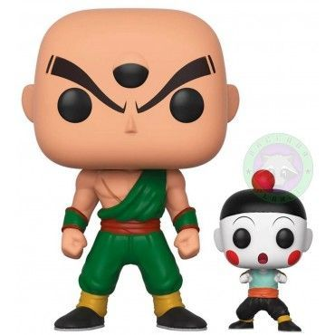 Funko Pop ! Tien and Chiaotzu  - Dragon Ball