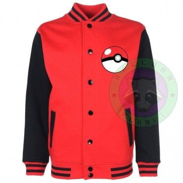 Pokémon Trainer - Chaqueta Universitaria