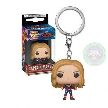 Llavero Pop ! Captitana Marvel