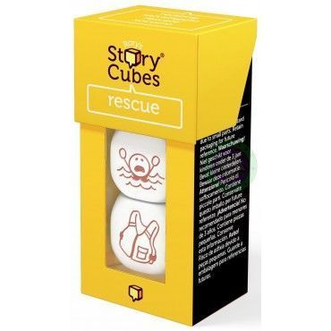 Juego - Story Cubes - rescate