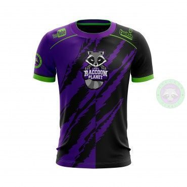 Camiseta Oficial Raccoon Planet eSports