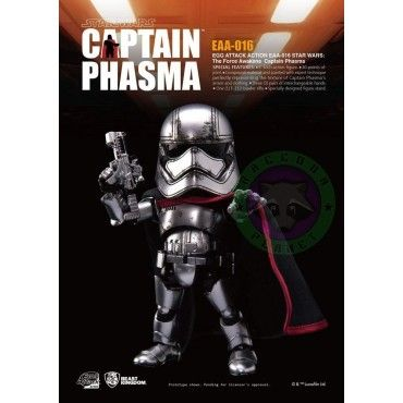 Figura Captain Phasma - Beast Kingdom Star Wars Egg Attack