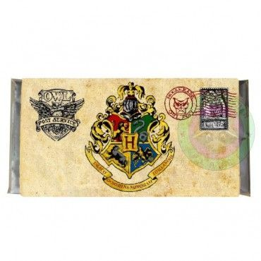 Chocolate carta Hogwarts -Harry Potter