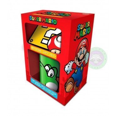 Set regalo taza - Super Mario