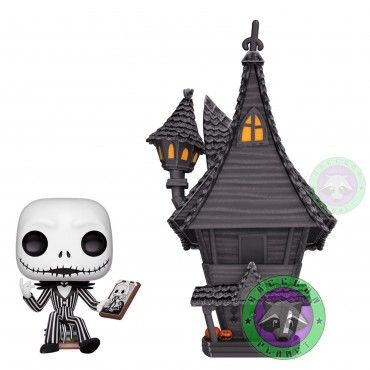 Pop! Movie Moment Jack Skellington y su casa - Pesadilla Antes de Navidad - Disney