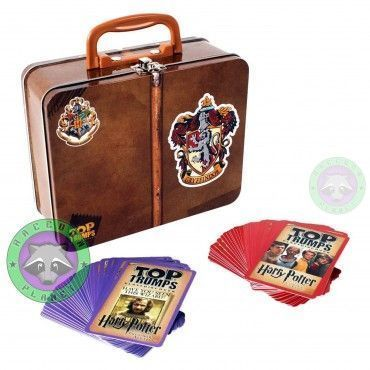 Juego de cartas Top Trumps - Maleta Gryffindor - Harry Potter