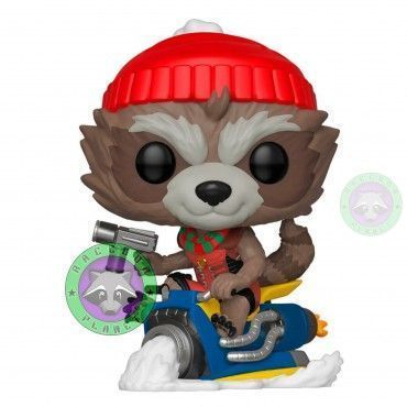 Funko Pop! Rocket Holiday - Marvel